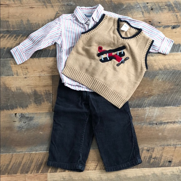 Gymboree Other - 18-24M Gymboree 3 piece toddler boy outfit.
